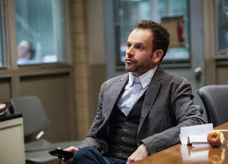 Jonny Lee Miller as Sherlock Holmes in CBS Elementary Episode # 18 Deja Vu All Over Again