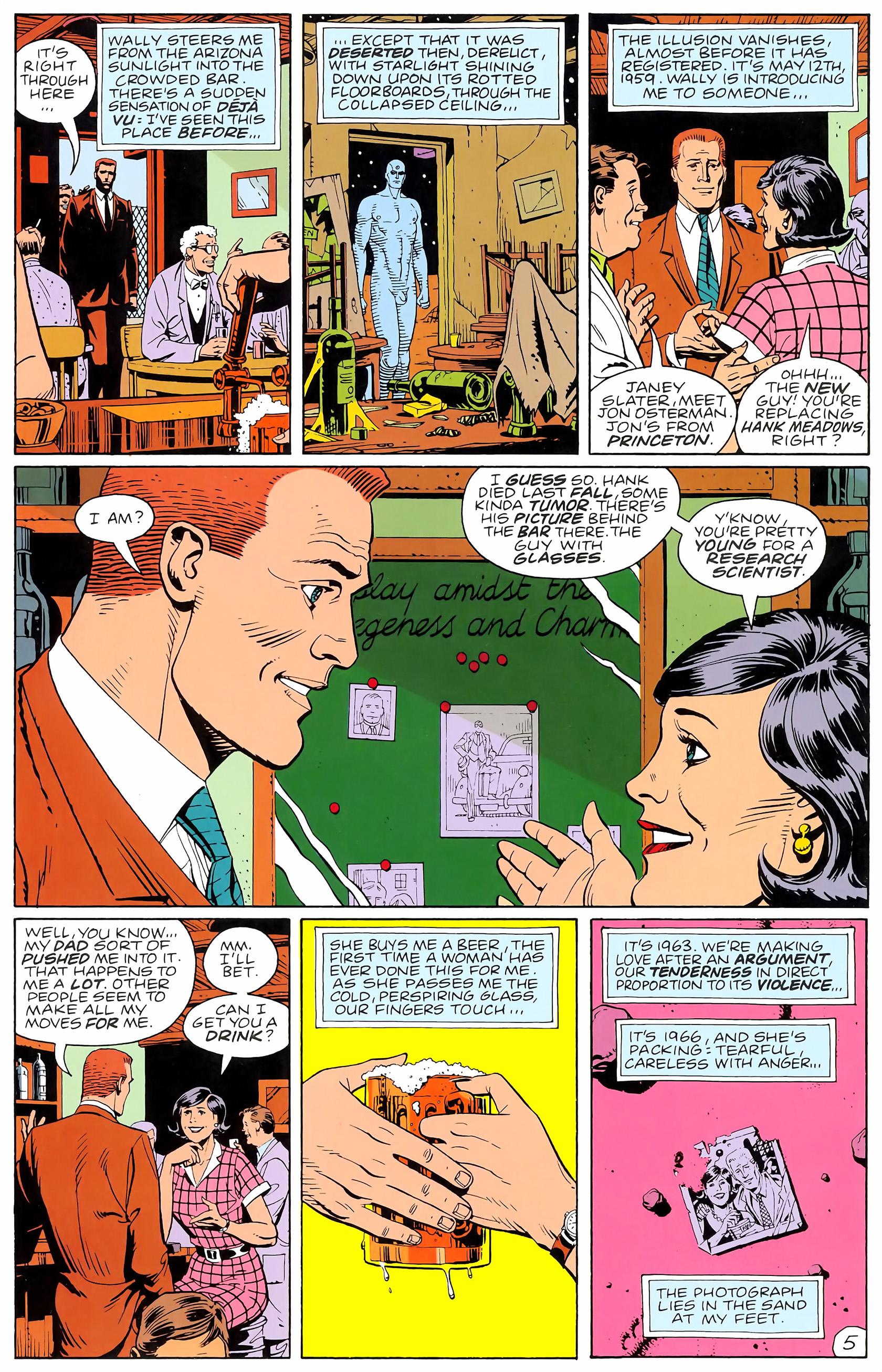 Watchmen (1986) issue 4 - Page 7