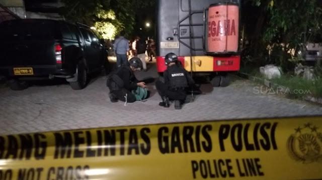 Duarr, Tiga Truk Isi Bahan Bom Diledakkan di Mojokerto
