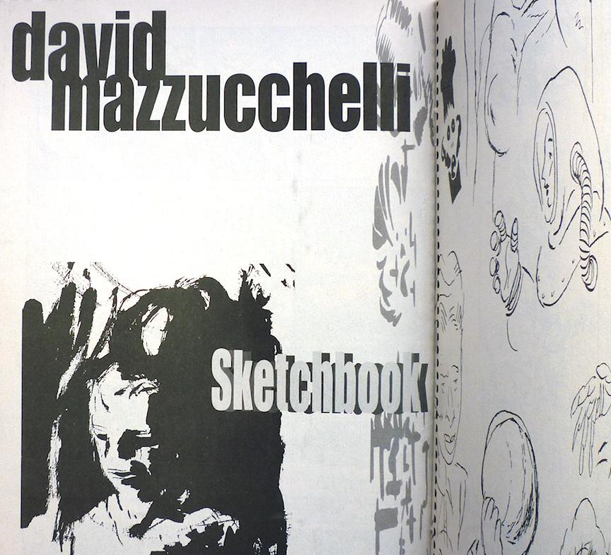 Existential Ennui: David Mazzucchelli Comics: Short Stories in