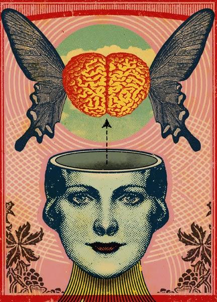 controllo mentale, farfalla