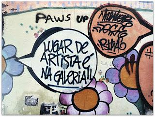 Lugar de Artista é na Galeria - Tatiane Passos