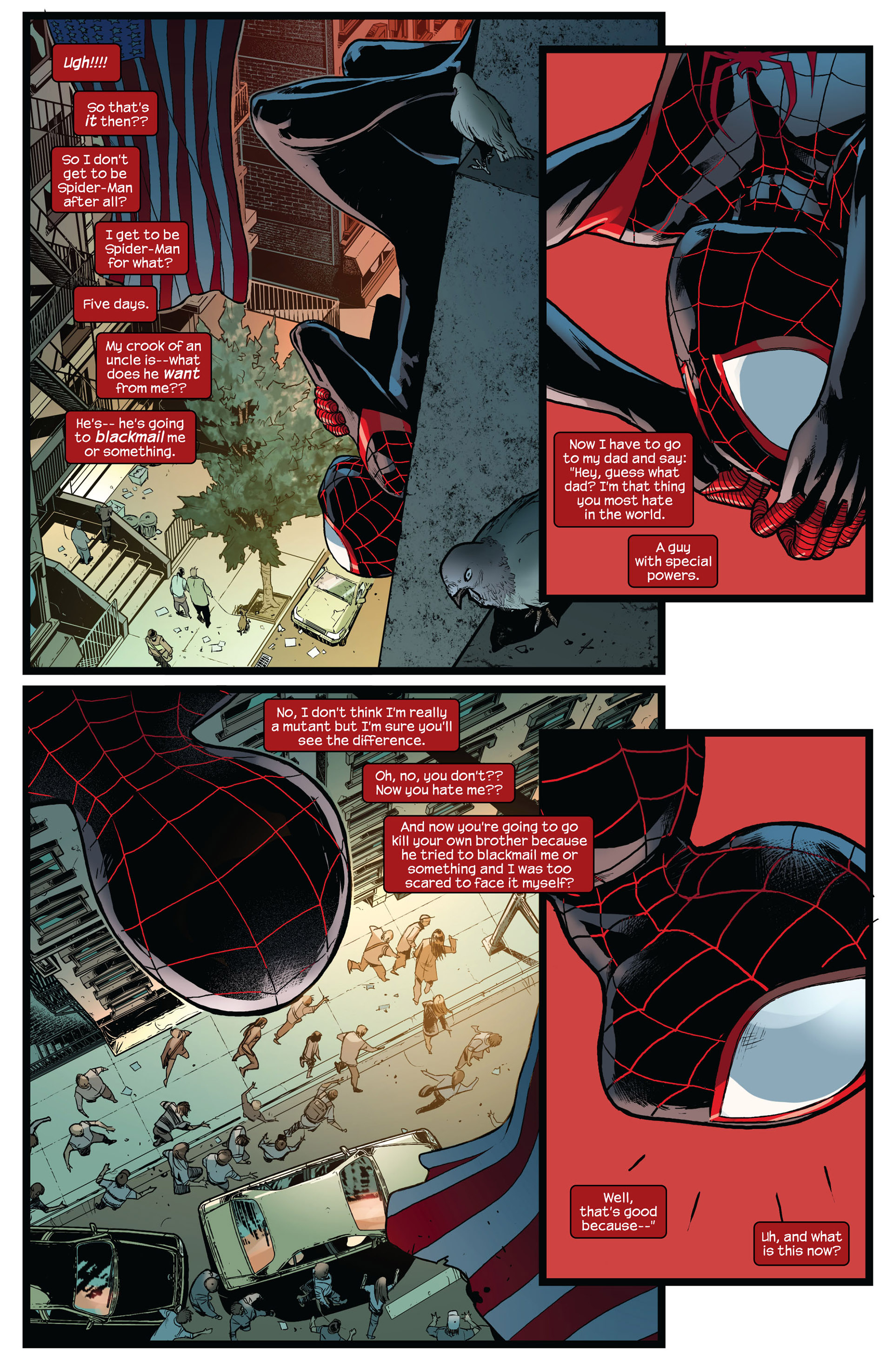Read online Ultimate Comics Spider-Man (2011) comic -  Issue #8 - 16