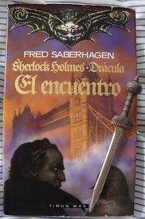 Portada del libro El encuentro, de Fred Saberhagen