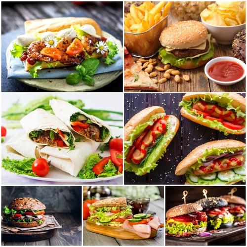 تحميل 7 صور عالية الجودة للأطعمة والوجبات السريعة وبروابط مباشرة