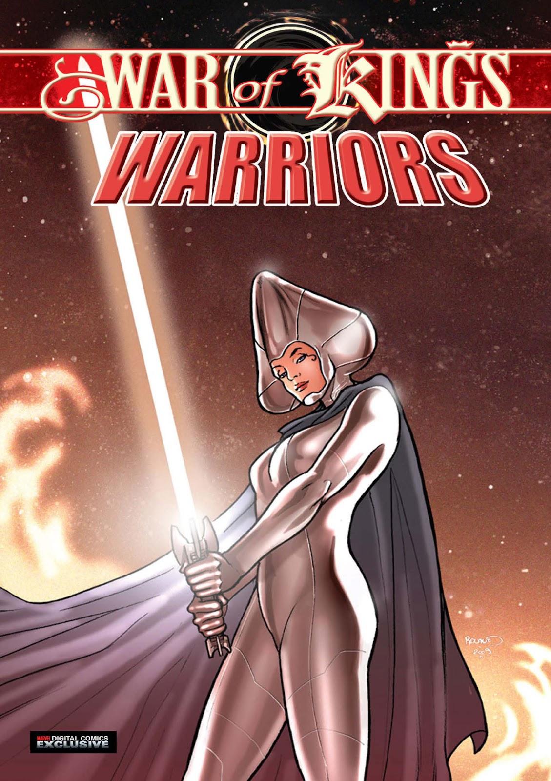 Read online War of Kings: Warriors - Lilandra comic -  Issue #1 - 1