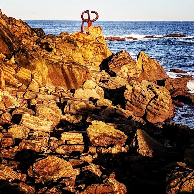 What to see in San Sebastián: Basque Country artist Eduardo Chillida's El Peine del Viento