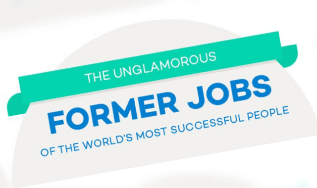 The Unglamorous Former Jobs Of The World's Most Successful People