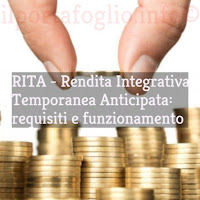 requisiti e funzionamento rita per rendita pensionistica anticipata