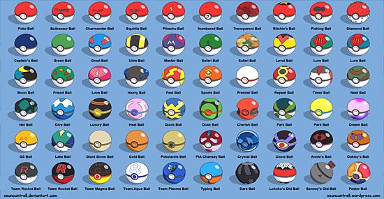 Pokemón Go - 9 segredos e detalhes de Pokemón Go Pokebolas