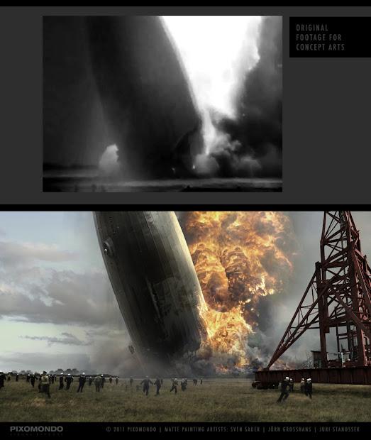 Arthouse Matte Painting Studio - Hindenburg English