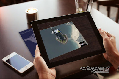 Octagon VR AR 4D+ Buatan Indonesia