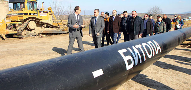 Construction of Negotino-Bitola gas pipeline according to plan