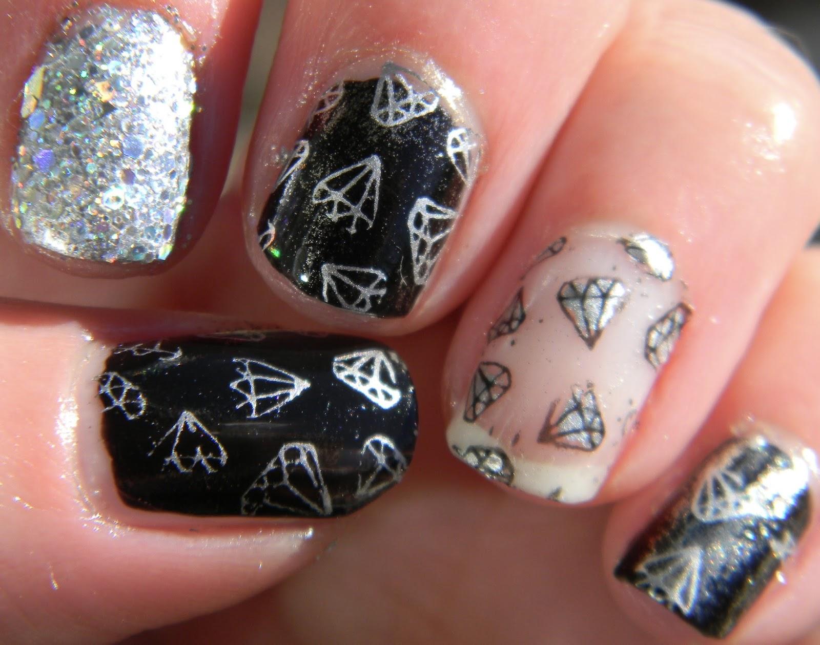 Fantastic Diamond Nail Powder Image Collection - Nail Art Ideas ...