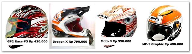 Daftar Harga Helm INK Untuk Balap Motor dan Trail