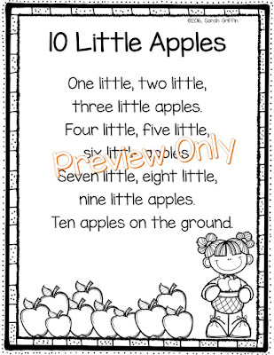 https://www.teacherspayteachers.com/Product/Apples-Poem-Ten-Little-Apples-2835805