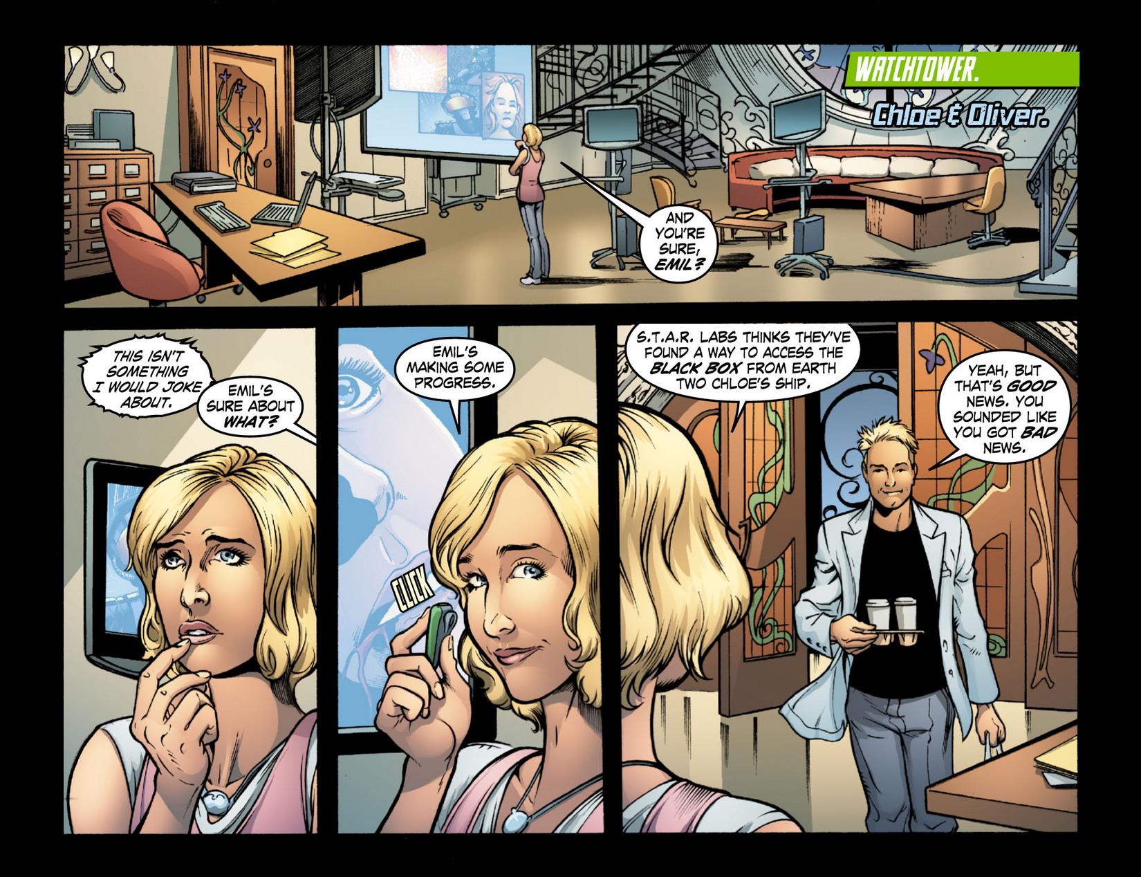 Read online Smallville: Season 11 comic -  Issue #16 - 2