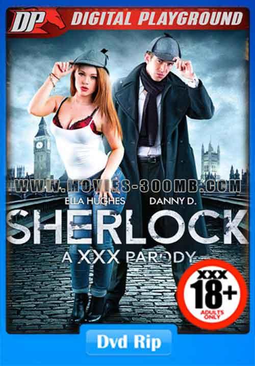 [18+] Sherlock Holmes A Parody 2016 DVDRip 500MB xXx Poster
