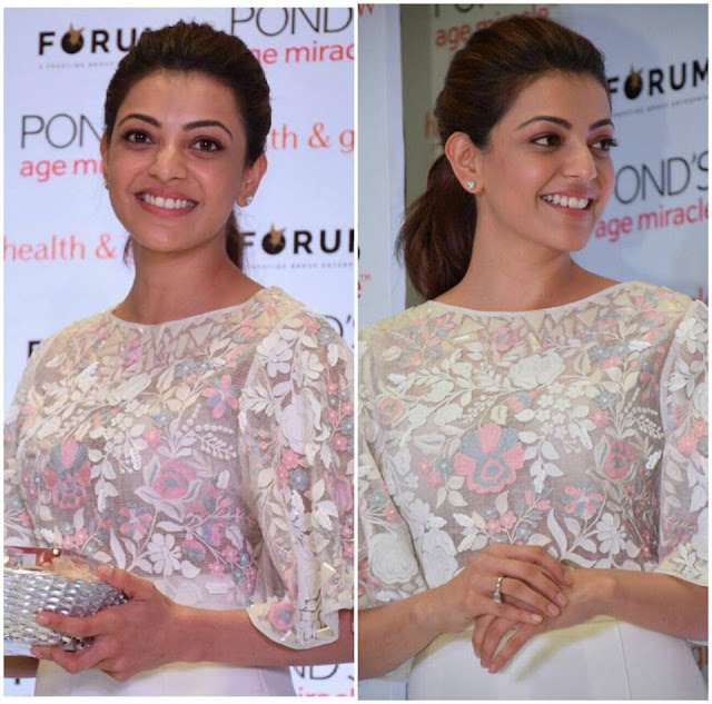 Kajal agarwal Latest pic at an event in Bangalore
