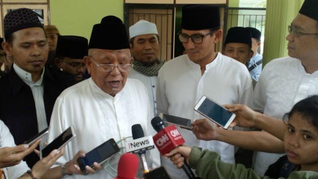 Kiai Syukron Siap Sumbang Jutaan Suara untuk Prabowo-Sandi