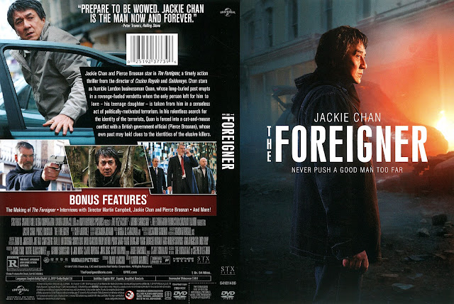 The Foreigner DVD Cover