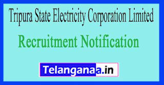 Tripura State Electricity Corporation Limited TSECL Recruitment Notification 2017