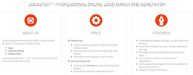 LOGASTER - Professional Online Logo Generator