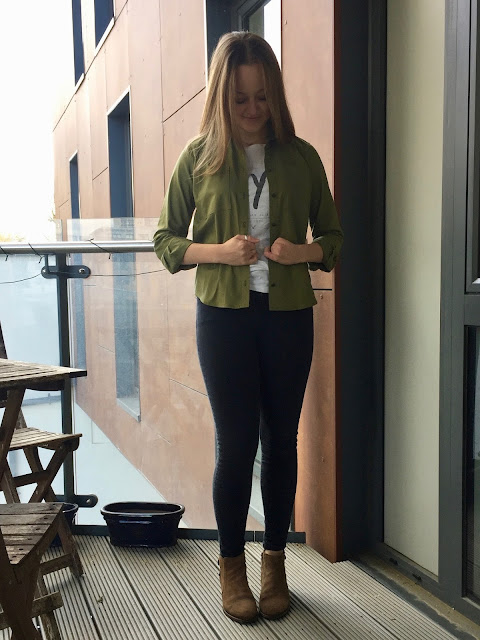 Diary of a Chain Stitcher: Military Inspired Grainline Archer Shirt