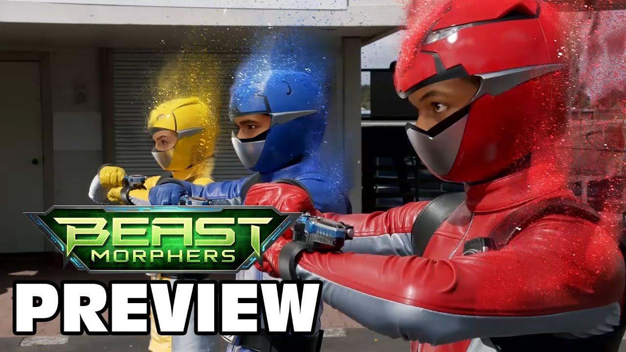 Comic Frontline: Power Rangers Beast Morphers Episode 2 Preview
