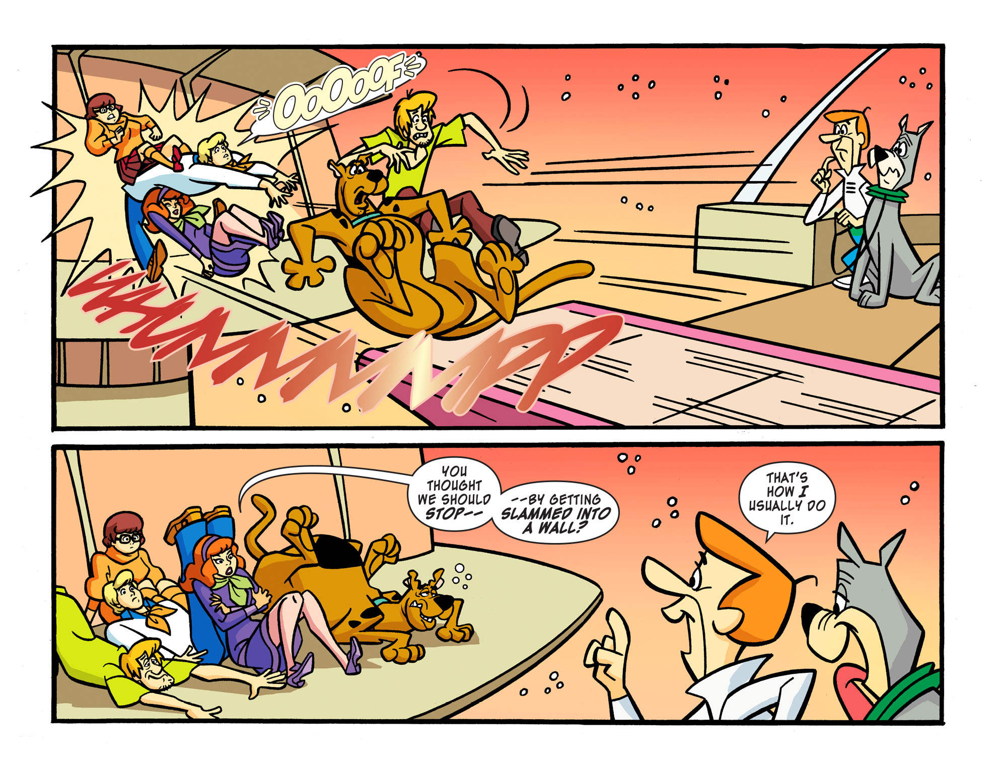 Read online Scooby-Doo! Team-Up comic -  Issue #15 - 6