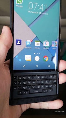 Ainda mais fotos e suspense do Blackberry Venice Android