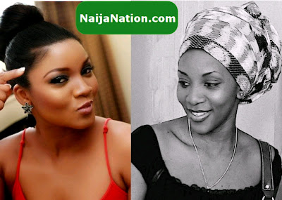 omotola jalade fighting genevieve nnaji