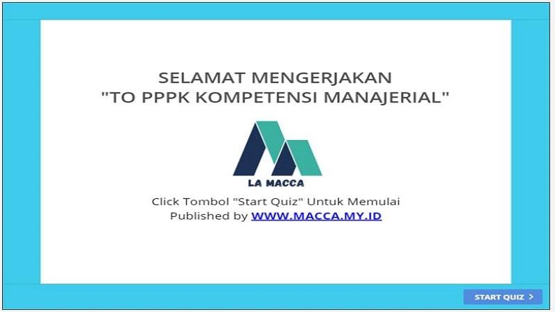 Latihan Soal PPPK Online