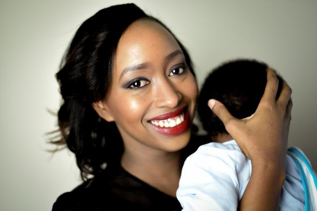 Janet Mbugua with Huru Ndichu