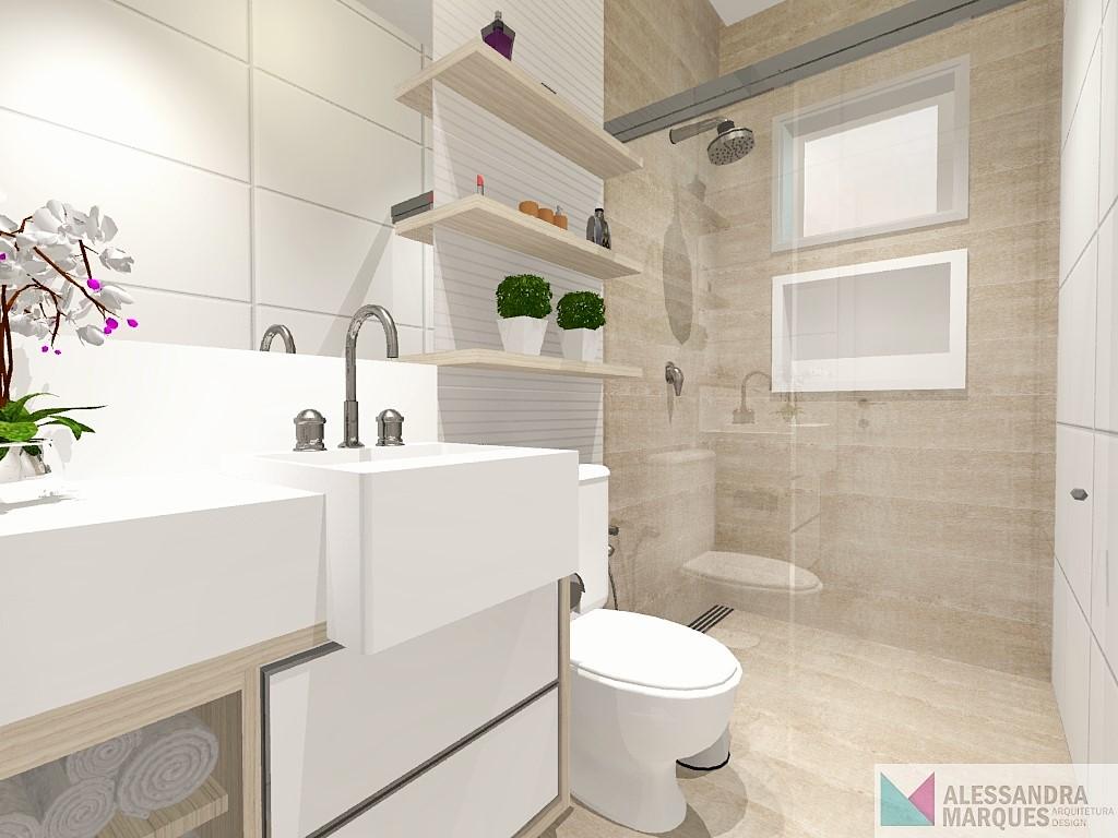 Construindo um Castelinho Projeto Banheiro Social -> Largura Nicho Banheiro