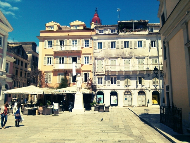 Corfu town photos