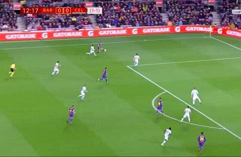 Alba căng ngang dọn cỗ cho Messi ghi bàn mở tỷ số