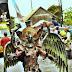 Tandingi Jember Fashion Carnival, Warga Malang Gelar Pesona Gondanglegi