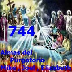 MENSAJE DE MIKE, JOEL, Y ELIZABETH : 3 ALMAS DEL PURGATORIO