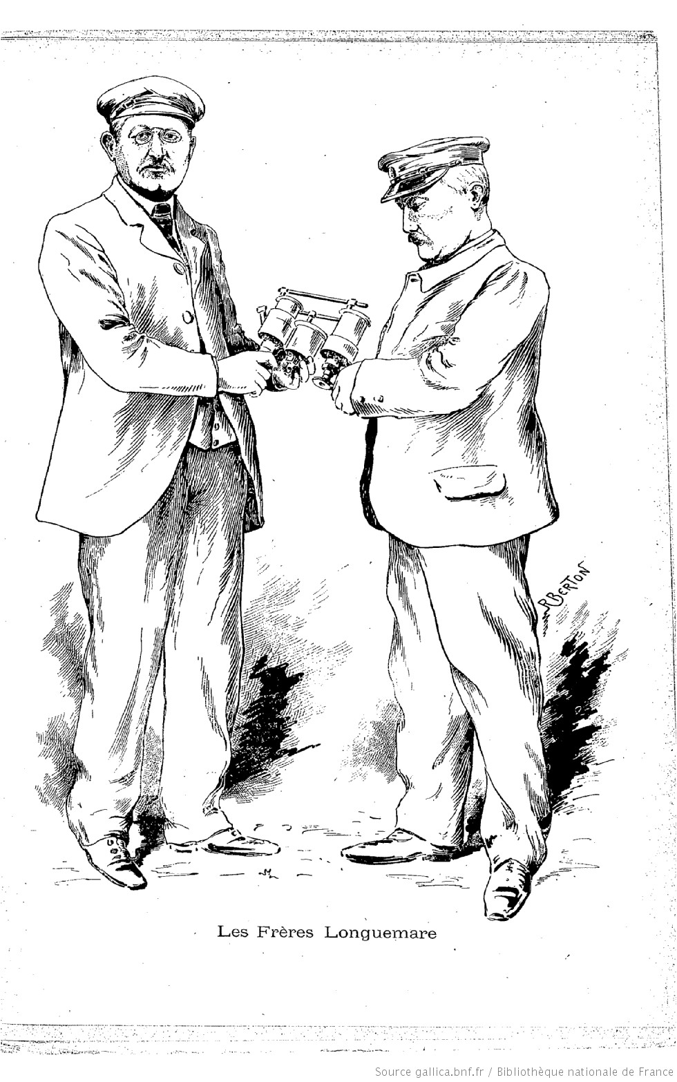 Frères longuemare le chauffeur 1901