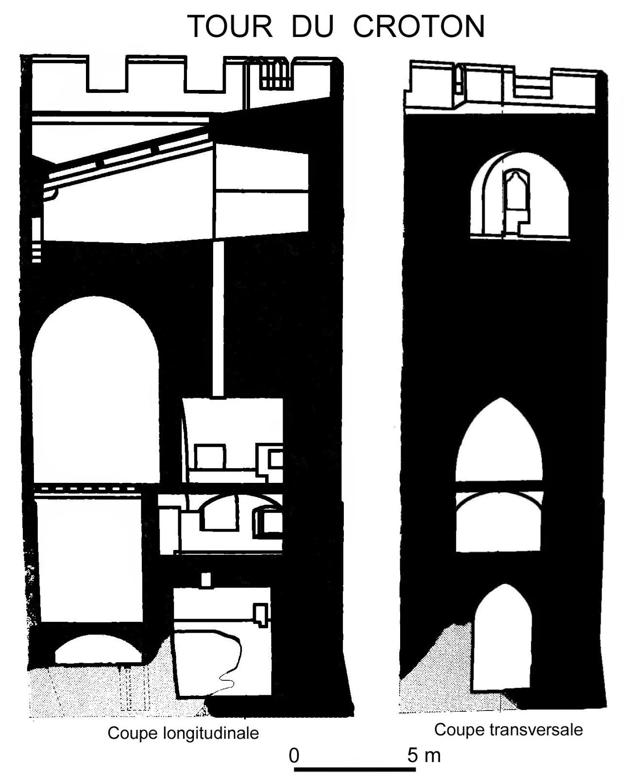 CREST (26) - Le donjon