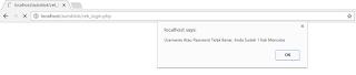 Cara Blokir User 3 Kali Salah Pada PHP
