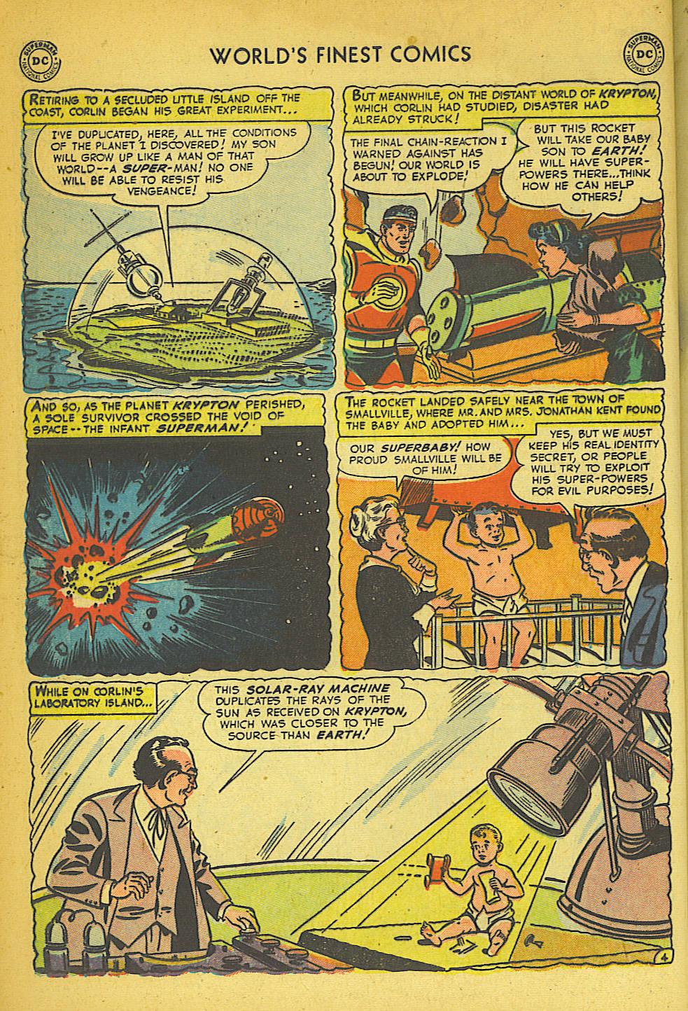 Read online World's Finest Comics comic -  Issue #57 - 6