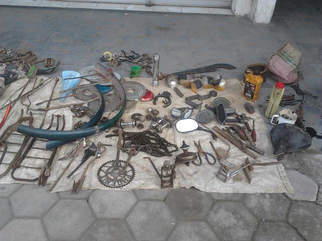 komponen bekas sepeda