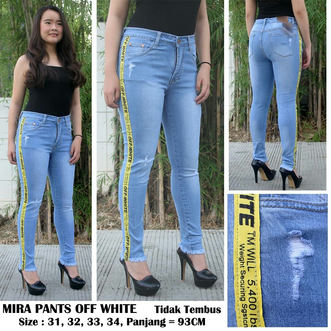 Mira Pants Off White