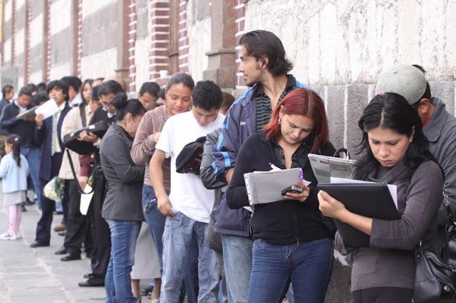 desempleo en Ecuador se incrementa