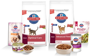Science diet cat food coupons
