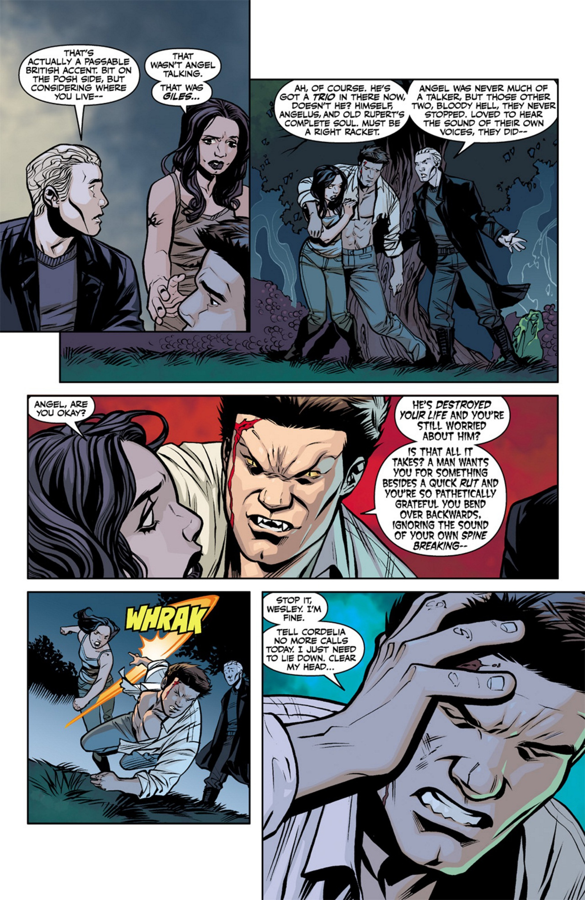 Read online Angel and Faith comic -  Issue #19 - 22
