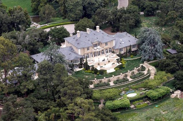 5 Foto Rumah Mewah Artis Hollywood Yang Menakjubkan - Mega Mansion Oprah Winfrey
