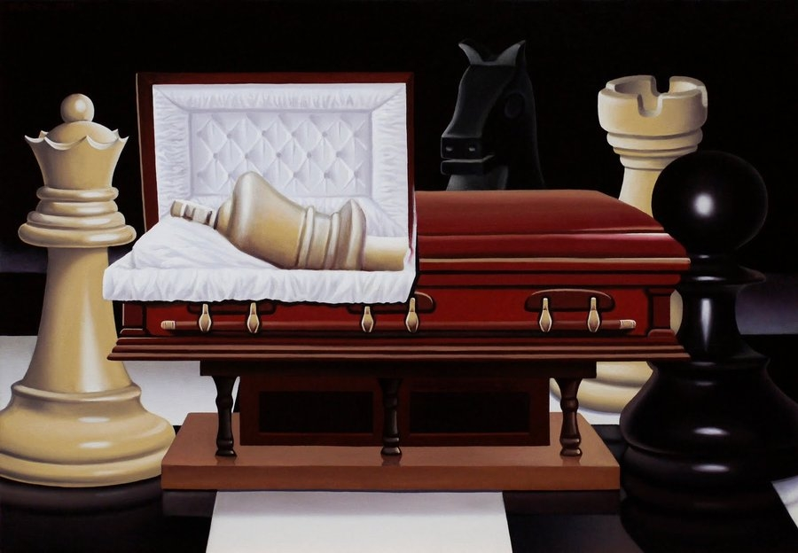 03-The-King-is-dead-Long-live-the-King-Mihai-Cristeis-Surreal-Art-and-Optical-Illusion-Paintings-www-designstack-co